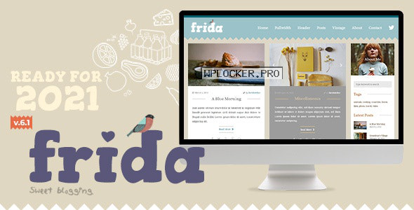 Frida v6.1 – A Sweet & Classic Blog Theme
