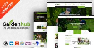 Garden HUB v1.2.5 – Lawn & Landscaping WordPress Theme