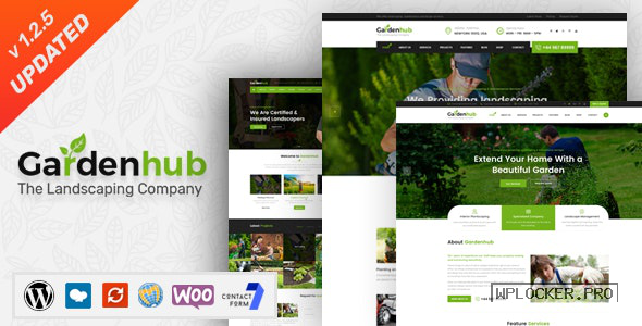 Garden HUB v1.2.5 – Lawn & Landscaping WordPress Theme