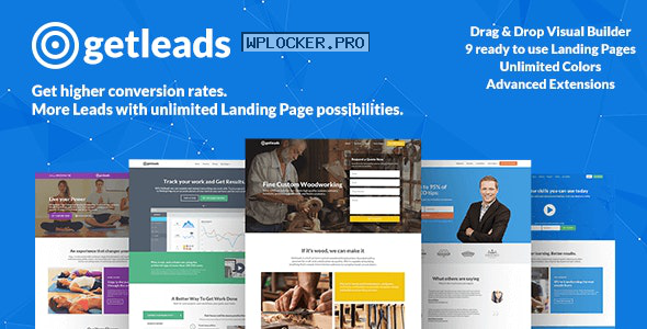 Getleads v2.0.0 – High-Performance Landing Page Theme
