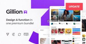Gillion v3.7.5 – Multi-Concept Blog/Magazine & Shop WordPress Theme