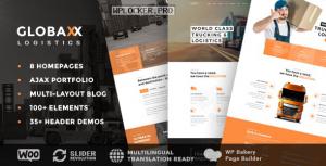 Globax v2.6 – Logistics WordPress Theme + Woocommerce