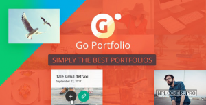 Go Portfolio v1.7.5 – WordPress Responsive Portfolio