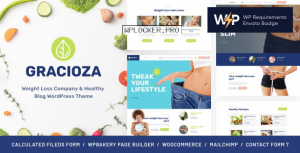 Gracioza v1.0.5 – Weight Loss Company & Healthy Blog