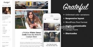 Grateful v1.0.7 – Personal Blog WordPress Theme