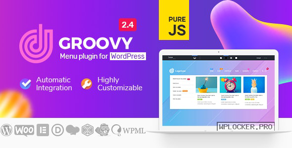 Groovy Menu v2.4.0 – WordPress Mega Menu Plugin