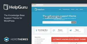 HelpGuru v1.7.5 – A Self-Service Knowledge Base Theme