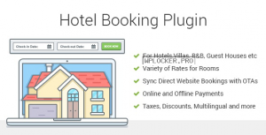 Hotel Booking v3.9.1 – Property Rental WordPress Plugin