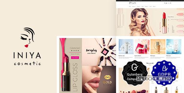 Iniya v2.2 – Cosmetic WordPress Theme