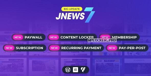 JNews v7.1.8 – WordPress Newspaper Magazine Blog AMP