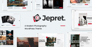 Jepret v1.3 – Modern Photography WordPress Theme