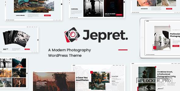 Jepret v1.3 – Modern Photography WordPress Theme