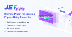JetPopup v1.5.1 – Popup Addon for Elementor