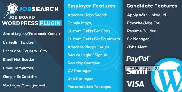 JobSearch v1.6.3 – WP Job Board WordPress Plugin