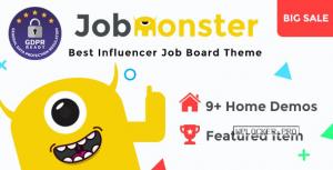 Jobmonster v4.6.7.1 – Job Board WordPress Theme