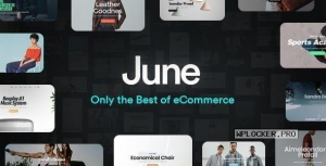 June v1.8.2 – WooCommerce Theme