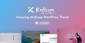 Kalium v3.1.1 – Creative Theme for Professionals