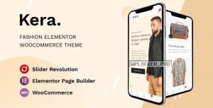 Kera v1.1.3 – Fashion Elementor WooCommerce Theme