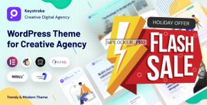 Keystroke v1.0.5 – Creative Agency, Digital Agency WordPress Theme