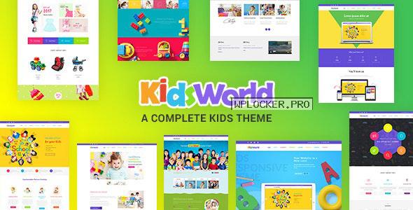 Kids Heaven v2.6 – Children WordPress Theme