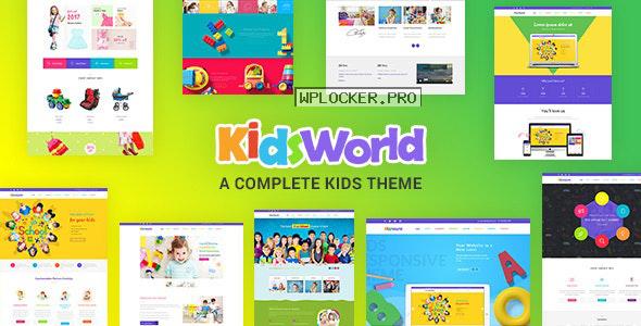 Kids Heaven v2.7 – Children WordPress Theme