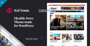 Kolyoum v2.3.2 – Newspaper Magazine News BuddyPress AMP