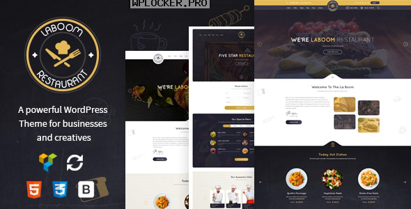 La Boom v2.5 – Food & Restaurant Bistro Theme