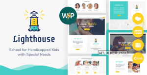 Lighthouse v1.2.2 – School for Handicapped Kids with Special Needs WordPress Theme