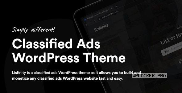 Lisfinity v1.1.18 – Classified Ads WordPress Theme