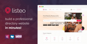 Listeo v1.5.01 – Directory & Listings With Booking