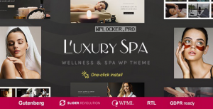 Luxury Spa v1.1.3 – Beauty Spa & Wellness Resort Theme