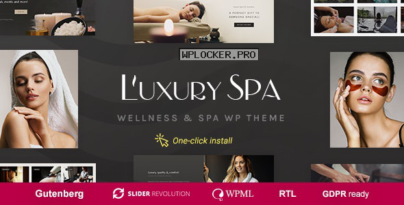 Luxury Spa v1.1.3 – Beauty Spa & Wellness Resort Theme