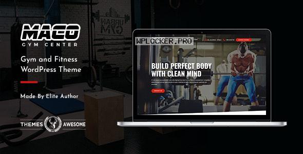 Maco v1.4 – Gym and Fitness WordPress Theme