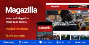 Magazilla v1.0.5 – News & Magazine Theme