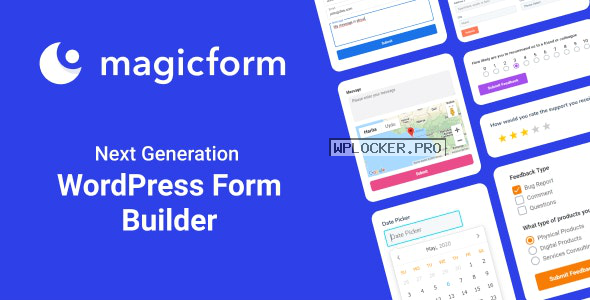 MagicForm v1.5.1 – WordPress Form Builder
