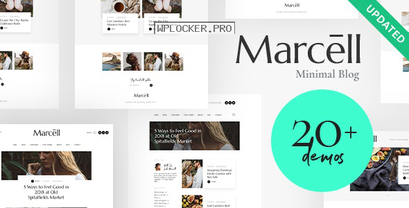 Marcell v1.2.3 – Multi-Concept Personal Blog & Magazine