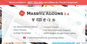 Massive Addons for WPBakery Page Builder v2.4.8