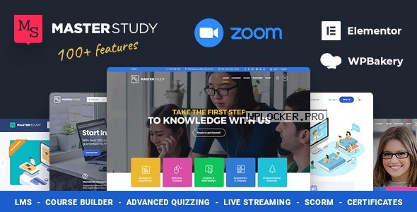 Masterstudy v4.1.3 – Education Center WordPress Theme