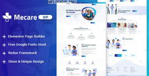 Mecare v1.0 – Hospital and Health WordPress Theme