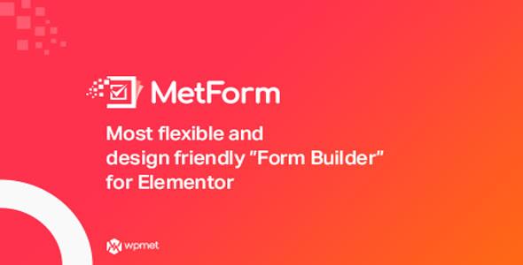 MetForm Pro v1.2.5 – Advanced Elementor Form Builder