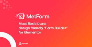 MetForm Pro v1.2.13 – Advanced Elementor Form Builder