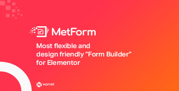 MetForm Pro v1.2.13 – Advanced Elementor Form Builder