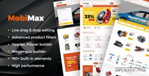 Mobimax v3.5 – Auto Parts WordPress Theme + WooCommerce Shop