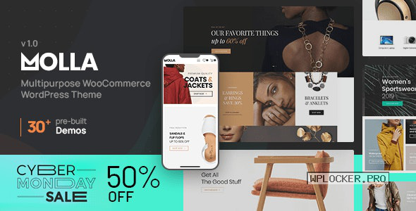 Molla v1.1 – Multi-Purpose WooCommerce Theme