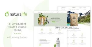 NaturaLife v1.9.4 – Health & Organic WordPress Theme
