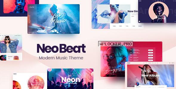 NeoBeat v1.2 – Music WordPress Theme