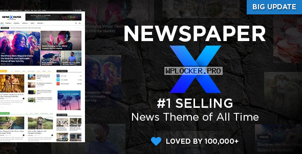 Newspaper v10.3.9 – WordPress News Theme