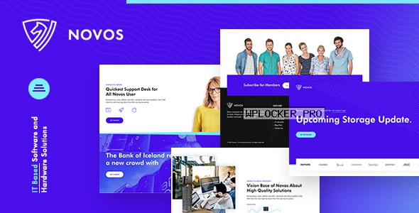 Novos v1.0.0 – IT Company & Digital Solutions WordPress Theme