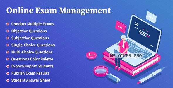 Online Exam Management v2.2 – Education & Results Management