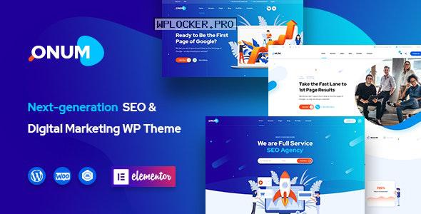 Onum v1.2.0.10 – SEO & Marketing Elementor WordPress Theme